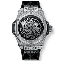 Hublot Big Bang One Click Sang Bleu Steel Diamonds