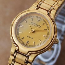 Longines Wittnauer by Longines QWR Ladies Swiss 18K Gold-Plate...