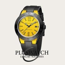 Bulgari DIAGONO MAGNESIUM 41MM Giallo Yellow  T