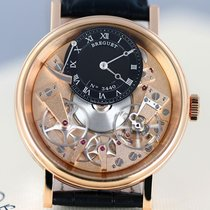 Breguet Tradition 7057 Pink Gold Case Black Strap 7057brr99w6