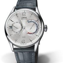 Oris CULTURA ARTELIER CALIBRE 111 Steel-Silver Dial-Grey Leather