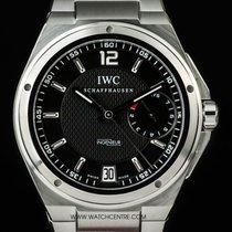 IWC S/S Black Dial Big Ingenieur Power Reserve B&P IW500505