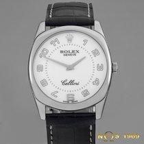 ロレックス (Rolex) Cellini Danaos 18K White Gold Ref.4233/9 Full...