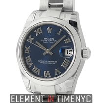 Rolex Datejust Stainless Steel 31mm Blue Roman Dial