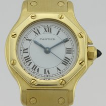 Cartier SANTOS OCTAGON AUTOMATIC 18k GOLD