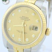 Rolex Datejust Stahl/Gold Diamantzifferblatt Ref.:116233 von...