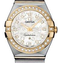 Omega Constellation Brushed 24mm 123.25.24.60.55.010
