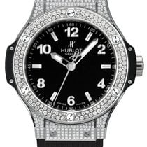 Hublot Big Bang 38mm Stainless Steel Diamonds Ladies Watch