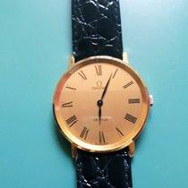 Omega De Ville 18 k yellow gold  gents dress watch