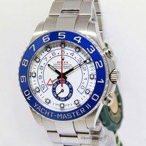 Rolex Yacht-Master II Steel Blue Ceramic Bezel Mens Watch...