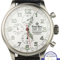 Ernst Benz Stainless Steel White Dial Chronoscope Automatic...
