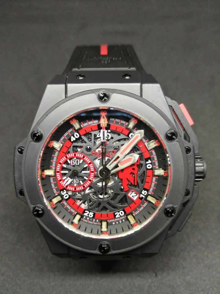 260ace64885 Hublot King Power Red Devil Manchester United Ltd 500 pcs for Rs. 817