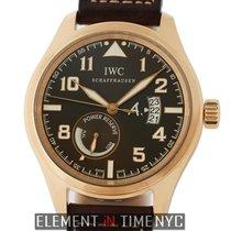 IWC Pilot Collection Pilot Antoine de Saint Exupery 18k Rose...
