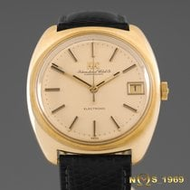 IWC Electronic   18K  Solid Gold   1970 Year