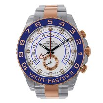 Rolex YACHT-MASTER II 44mm Steel & 18K Rose Gold