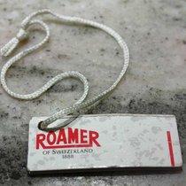 Roamer vintage tag paper white