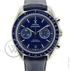 Omega Speedmaster Moonwatch Chronograph Blue - Full Set
