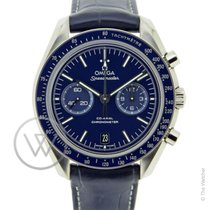 Omega Speedmaster Moonwatch Chronograph Blue New- Full Set