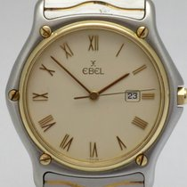 "Ebel ""Classic Sport Wave"" Gents model. Gold/steel"