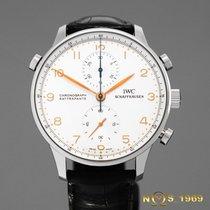 IWC Portuguese Rattrapante Chronograph IW371202  BOX