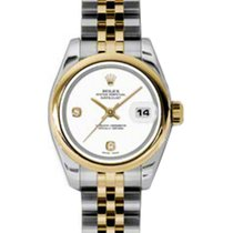 勞力士 (Rolex) Lady-Datejust 26 179163-WHTADJ White Arabic 6...