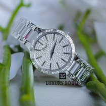 Piaget Dancer Diamond Pave Dial 18K White Gold