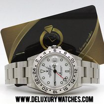 Rolex Explorer II 16570 White Serial F Nos Nuovo New 2005