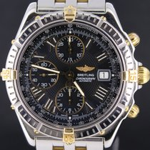 Breitling Crosswind Pilot Gold/Steel Black Roman Dial 43MM, Mint