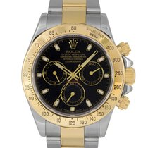 Ρολεξ (Rolex) Daytona Steel & Gold Black Dial 116523...