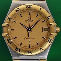 Ωμέγα (Omega) Constellation 34mm Date 18k Gold Steel