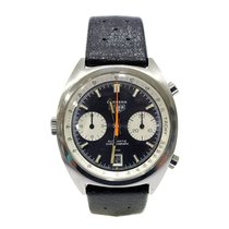 Heuer Carrera Vintage Chronograph 1153 Black Dial