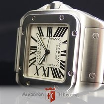 Cartier Santos 100 XL Automatic Stahl + Stahlband Ref. 2656