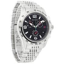 Gucci 126 G-Timeless Mens Stainless Steel Swiss Quartz Watch...