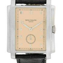 "Patek Philippe Gent's 18K White Gold  ""Gondolo""..."