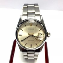Rolex Oysterdate Precision Stainless Steel Ladies Watch In Box