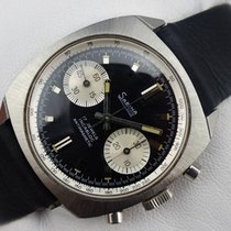 Sabina Chronograph Handaufzug Vintage - Panda Dial - Valjoux 7730