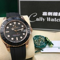 Rolex Cally - Yacht-Master 268655 18K Rose Gold 37mm 膠帶 [NEW]