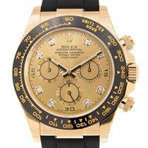 勞力士 (Rolex) Daytona 18 K Yellow Gold Gold Automatic 116518GCH_...