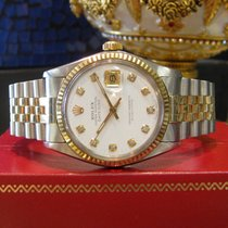 Rolex Oyster Perpetual Datejust Diamond Dial Yellow Gold...
