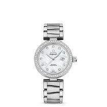 Omega 42535342055002 De Ville Ladymatic Pearl Diamonds Lady