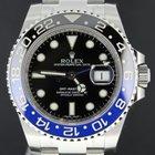 Rolex GMT-Master II steel BLNR 'batman' fullset