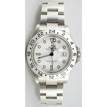 Rolex Explorer II 16570 White Face Perfect Flawless Condition...