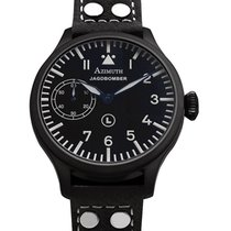 Azimuth Militare-1 Jagdbomber Pvd Watch 47mm Blued Hands...