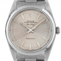 Rolex Air King Stahl Automatik Armband Oyster 34mm Ref.14000...