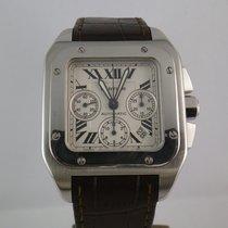 Καρτιέρ (Cartier) Santos 100 chronograph  XL