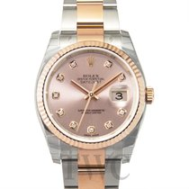 ロレックス (Rolex) Datejust Pink Steel/18k Rose Gold G 36mm - 116231