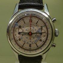 TITUS vintage chronographe screwed back bottom incredible dial