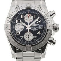Breitling Avenger II 43 Blue Dial Chrono Men Watch A1338111/C8...