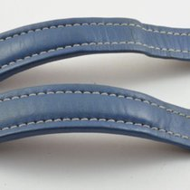 Breitling Leder Armband Band 22mm 22-18 Für Faltschliesse Blau