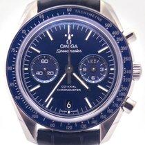 Omega Speedmaster Moonwatch Titanium 31193445103001 Blue Dial...
